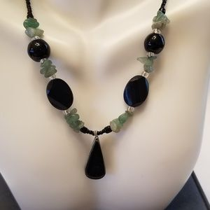 Stone & Bead fashion Necklace